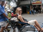 Claire in cyclo